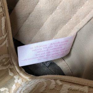 Cacique Intimates & Sleepwear - Cacique Nude Tan Lace Bra